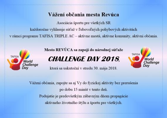 Challenge day 2018